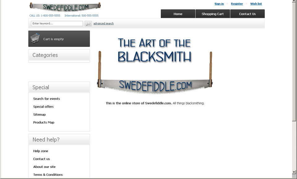 Swedefiddle home page